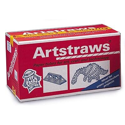 Pacon® White Art Straws, 1800 Pieces, 1/6