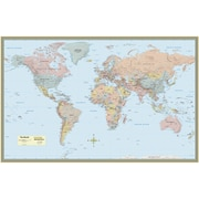 World map barcharts laminated world map poster 50 x 32 9781423220831 gumiabroncs Gallery