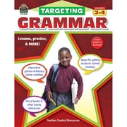Targeting Grammar For Grades 3-4 (TCR2433)