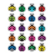 "Teacher Created Resources Colorful Ladybugs Stickers, Assorted Colors, Approx 1"" each, 120 Count (TCR5462)"