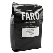 Faro Golden Bridge Espresso Limited Roast Whole Ethiopean Coffee Beans, 5 Pound Bag (P-31252)