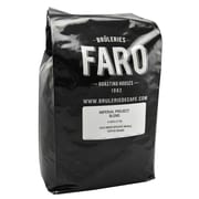 Faro Roasting Houses Imperial Project Blend Whole Rich and Luscious Coffee Beans, 5 Pound Bag (P-31136)