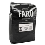 Faro Italian Espresso, Strong and Rich Whole Aribica Coffee Beans, 5 Pound Bag (P-31133)