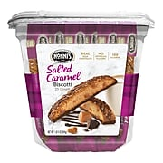 Nonni's Individually Wrapped Salted Caramel Biscotti Value Pack of 25