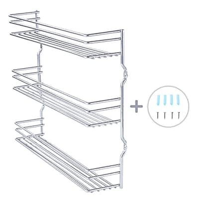 TygerClaw 3 Tier Shelf Chrome Spice Rack