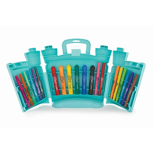 Mr. Sketch Scented Combo Pack with Markers & Twist Crayons, 20 Pieces (1969475SAN)