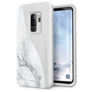 Galaxy S9 Plus Luna ,Slim profile, Scratch-resistant back,  and protective bumper, Marble