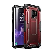 i-Blason SUPCASE Unicorn Beetle Premium Hybrid Protective Frost Clear Case for Galaxy S9 2018, Red (S-G-S9-UB-FT/RD)