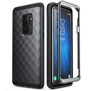 Galaxy S9 Plus case, Clayco Hera Series Full-body Rugged Case WITHOUT Built-in Screen Protector for S9 Plus 2018 Black