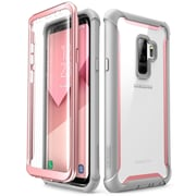 i-Blason Galaxy S9 Plus Case Ares Full-body Rugged Clear Bumper Case Without Built-in Screen Protector Pink (G-9P-ARES-SP-PK)