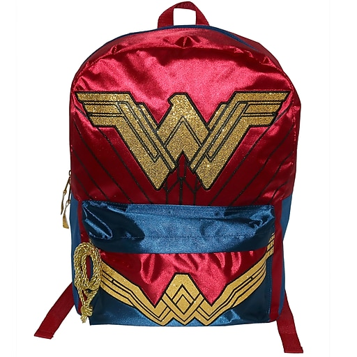 e2da9b2da1 Wonder Woman Backpack (B17WV35173-ST). https://www.staples-3p.com/s7/is/