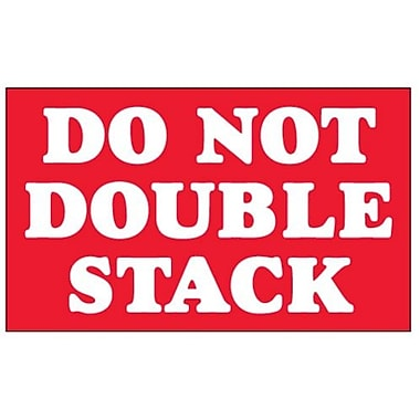 Do Not Double Stack Label, 3