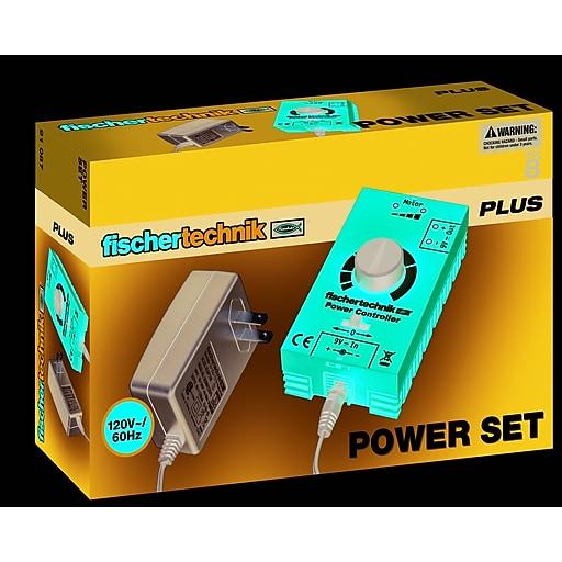 Fischertechnik Plus Power Set, Power Supply and Variable Control Unit  (91087)