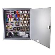 STEELMASTER® Flex™ Key Cabinet, 90 Key Capacity, Gray