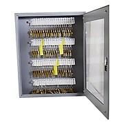 Uni-Tag Vue™ Key Cabinet, 60 Key Capacity, Gray