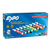 EXPO Low Odor Dry Erase Markers, Chisel Tip, Assorted Colors, 192 Count (SAN2003995)