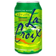 LaCroix Key Lime Sparkling Water 12 Oz Cans, Pack of 24 (NAV40108)