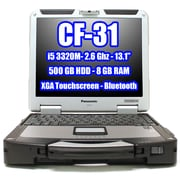"Refurbished Panasonic Toughbook  Cf-31Sflaa1M 13.1"" Xga Touch Laptop, Intel Core I5-3320M, 500Gb, 8Gb, Windows 7 Pro"