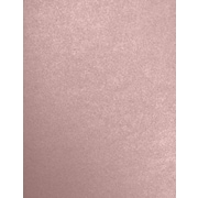 LUX 8 1/2 x 11 Paper 50/Pack, Misty Rose Metallic - Sirio Pearl® (81211-P-M203-50)