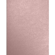 LUX 8 1/2 x 11 Cardstock 50/Pack, Misty Rose Metallic - Sirio Pearl® (81211-C-M203-50)