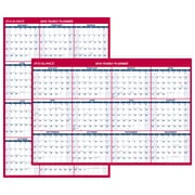 "AT-A-GLANCE® Vertical/Horizontal Erasable Wall Calendar, 12 Months, January Start, Reversible, 48"" x 32"" (PM326-28-19)"