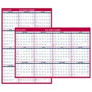 "AT-A-GLANCE® Vertical/Horizontal Erasable Wall Calendar, 12 Months, January Start, Reversible, 48"" x 32"" (PM326-28-19)"