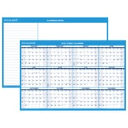 "AT-A-GLANCE® Horizontal Erasable Wall Calendar, 12 Months, Reversible for Planning Space, 36"" x 24"" (PM200-28-19)"
