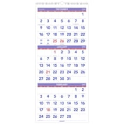 "AT-A-GLANCE® 3-Month Reference Vertical Wall Calendar, 14 Months, December Start, 12"" x 27"", Wirebound (PM11-28-19)"