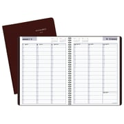 "AT-A-GLANCE® DayMinder® Weekly Appointment Book/Planner, 12 Months, January Start, 8"" x 11"", Burgundy (G520-14-19)"