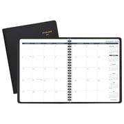 "AT-A-GLANCE® Monthly Planner, 12 Months, January Start, 6 7/8"" x 8 3/4"", Black (70-120-05-19)"