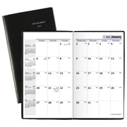 "AT-A-GLANCE® DayMinder® Monthly Pocket Planner, 14 Months, December Start, 3 5/8"" x 6 1/16"", Black (SK53-00-19)"