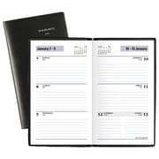 "AT-A-GLANCE® DayMinder® Weekly Pocket Planner, 12 Months, January Start, 3 1/2"" x 6 3/16"", Black (SK48-00-19)"