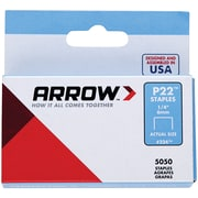"Arrow Plier Staples, 5,000 Pack, 1/4"" (224)"