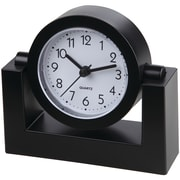 "TimeKeeper 4"" Swivel Black Desktop Clock (TK6851)"