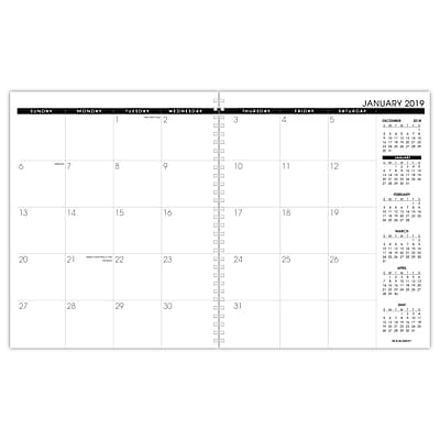 2019, AT-A-GLANCE® Three/Five-Year Monthly Planner Refill ()