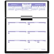"2019 AT-A-GLANCE® Flip-A-Week Desk Calendar and Base, Complete Set, 5 5/8"" x 7"" Pages included (SW700X-00-19)"