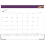 """2019 AT-A-GLANCE® Contemporary Monthly Desk Pad, 12 Months, January Start, 21 3/4"""" x 17"""" (SK24XF-59-19)"""