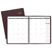 "2019 AT-A-GLANCE® Monthly Planner, 12 Months, January Start, 6 7/8"" x 8 3/4"", Winestone (70-120-50-19)"