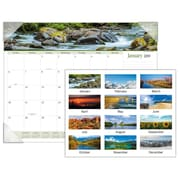 "2019 AT-A-GLANCE® Landscape Panoramic Monthly Desk Pad, 12 Months, January Start, 22"" x 17"" (89802-19)"