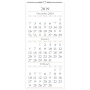 "2019 AT-A-GLANCE® 3 Month Wall Calendar, 14 Months, December Start, 12"" x 27"" (SW115-28-19)"