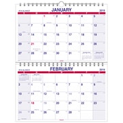 "2019 AT-A-GLANCE® Move-A-Page Two Month Wall Calendar, 12 Months,  January Start, 22"" x 28 1/2"", Wirebound (PMLF9-28-19)"