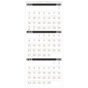 "2019 AT-A-GLANCE® Contemporary 3 Month Reference Wall Calendar, 14 Months, December Start, 12"" x 27"", Wirebound (PM11X-28-19)"