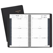 """2019 AT-A-GLANCE® Weekly Appointment Book/Planner, 12 Months, January Start, 4 7/8"""" x 8"""", Black (70-100-05-19)"""