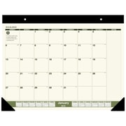 "2019 AT-A-GLANCE® Recycled Monthly Desk Pad, 12 Months, January Start, 22"" x 17"" (SK32G-00-19)"