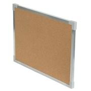 "Flipside 18"" x 24"" Corkboard, Aluminum Framed (FLP10210)"