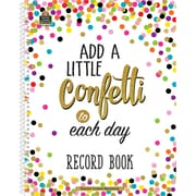 "Teacher Created Resources Confetti Record Book, 64 Pages, 8.5"" x 11"" (TCR3570)"