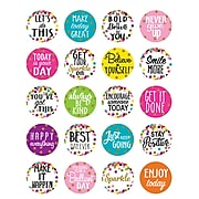 Teacher Created Resources® Confetti Words to Inspire Planner Stickers, Pack of 120 (TCR5909)