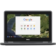 "Dell™ Chromebook Dp1T3 3189 11.6"" Touchdisplay LCD 2In1 Chromebook, Intel Celeron N3060 1.6Ghz, 4Gb Lpddr3, 32Gb Ssd"
