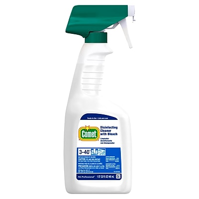 Comet® Disinfecting Cleaner with Bleach, 32 oz., 8/CT