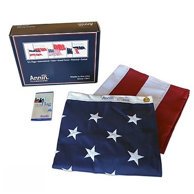 Annin Flagmakers American Flag, 6 x 10 ft., Tough-Tex (2740)